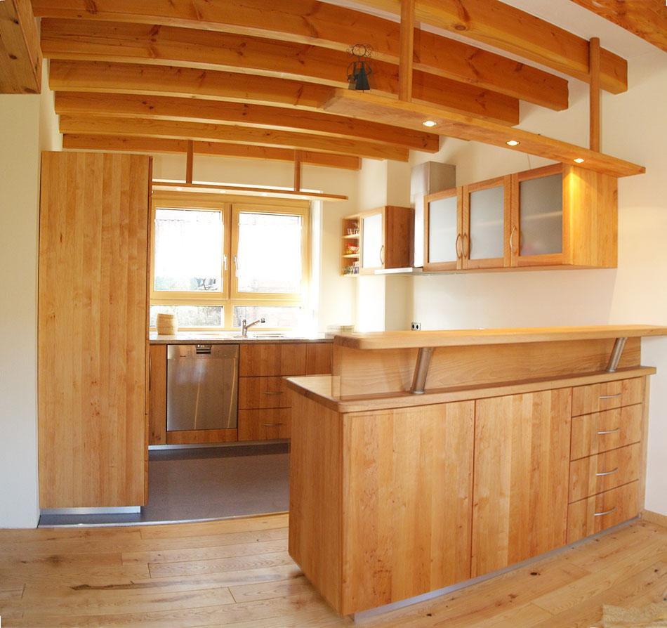 Küche Mit Küchenblock